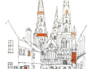 Lichfield Cathedral by Ruth Allen