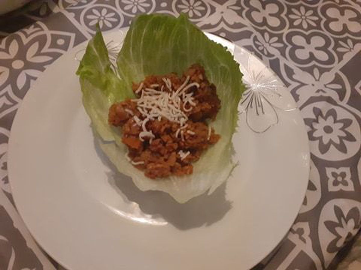 The vegetable yuk sung was one of the best dishes