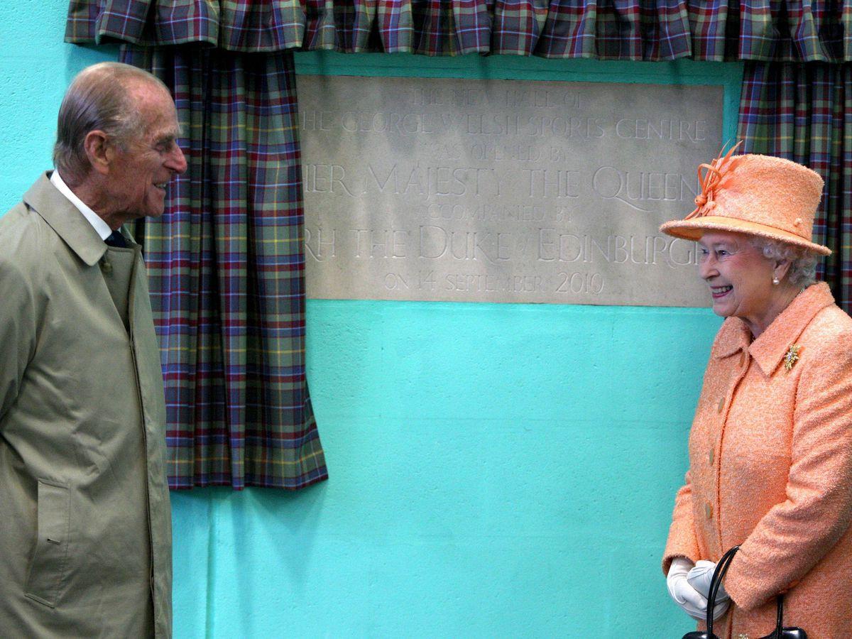 Queen opens sports hall at Gordonstoun School