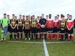 Joel Richards honoured at Memorial Cup match
