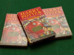 Rare Harry Potter books go up for sale