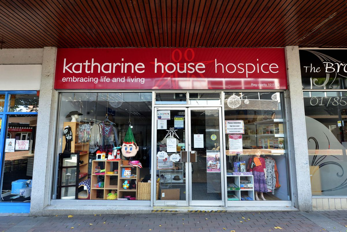 The Katharine House Hospice charity shop in Stafford