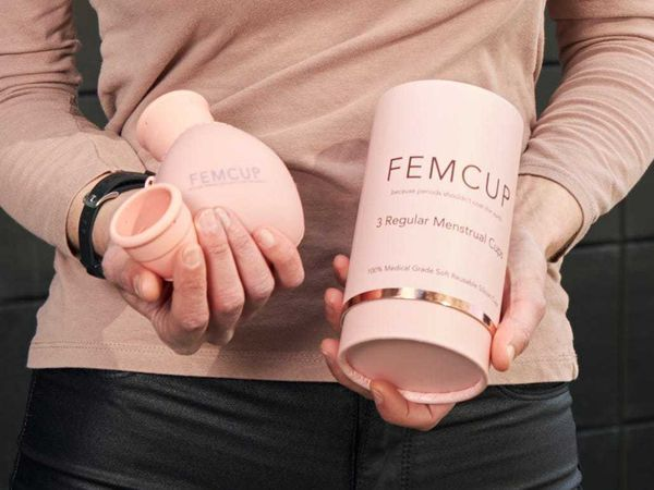 Julie Fitzpatrick launches Femcup