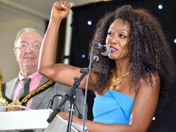 'I love Wolverhampton - and that's not Birmingham': Beverley Knight given Freedom of the City - WATCH