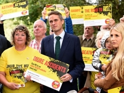 Gavin Williamson steps up fight against West Midlands Interchange