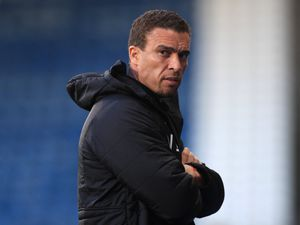 Barnsley manager Valerien Ismael during the Sky Bet Championship match at the John Smith's Stadium, Huddersfield. Picture date: Wednesday April 21, 2021..