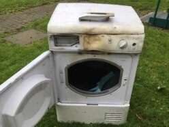 Warning after tumble dryer fire in Stafford