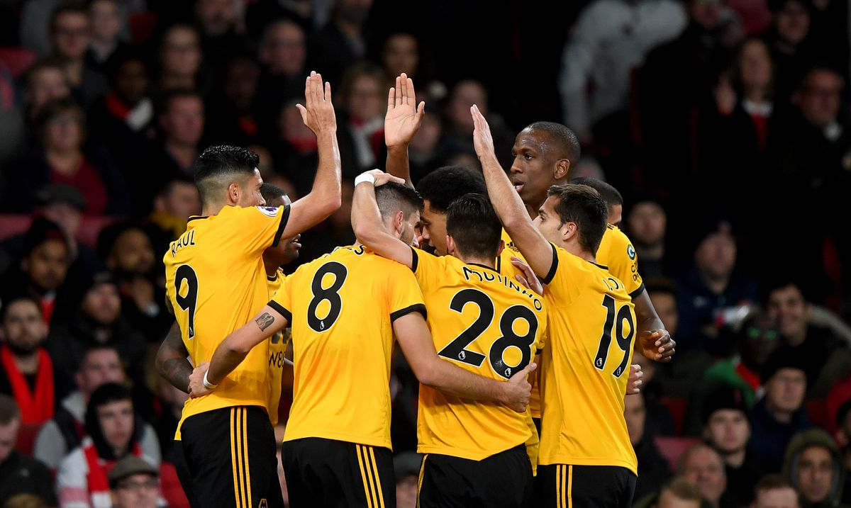 Wolves have enjoyed their trips to the capital so far this season (AMA/Sam Bagnall)