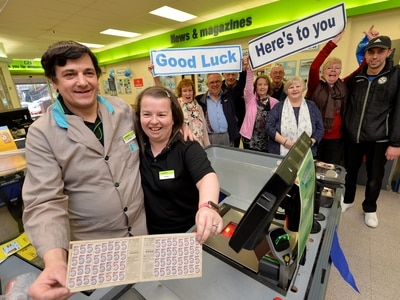 Residents mark closure of Hednesford's Co-op with event