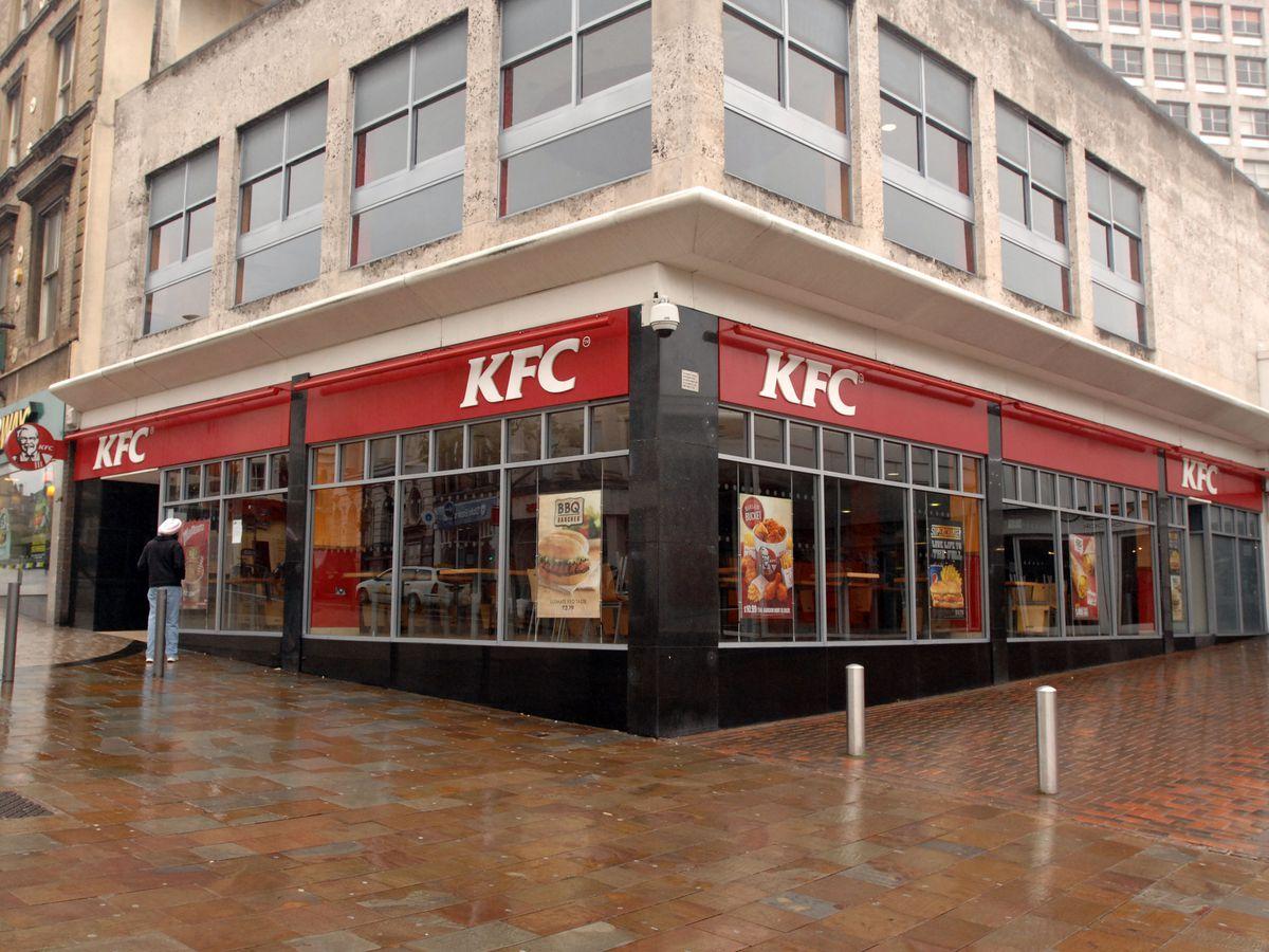 How KFC looked in Wolverhampton prior to its closure this week