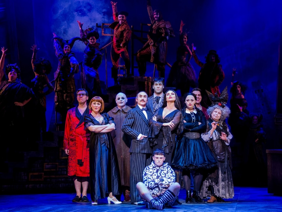 The Addams Family, Wolverhampton Grand Theatre - review with pictures