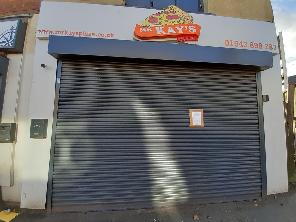 Mr Kay's was closed after a hygiene inspection