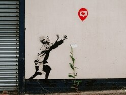 Second Banksy-style artwork appears in Brownhills