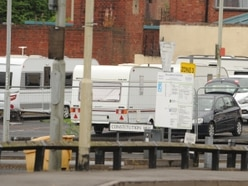 Travellers remain at Dudley car park weeks later