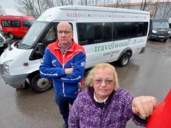 Staff left 'devastated' as hunt on to find stolen disabled minibuses