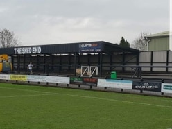 Stafford Rangers reveal new Shed End after £45k fundraising drive