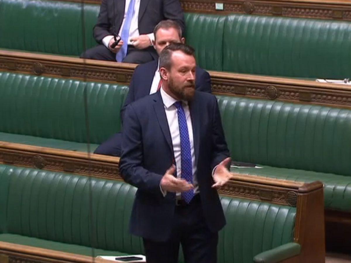 Wolverhampton South West MP Stuart Anderson
