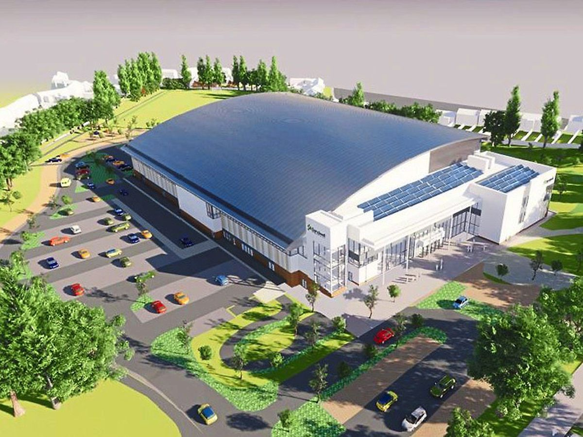 How the completed centre will look