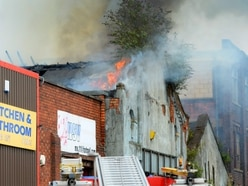 Fire-ravaged Smethwick factory at risk of collapse