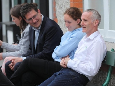 Green Party's Ciaran Cuffe tops poll in Dublin