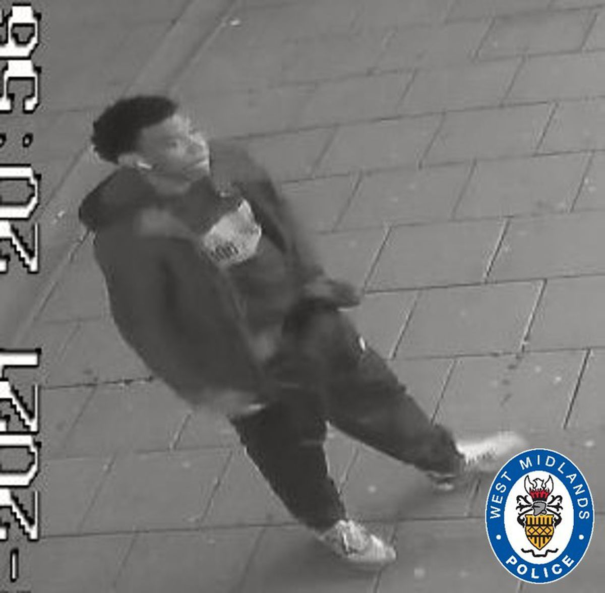 West Midlands Police have asked for anyone with information on who this man is to get in touch (Image by West Midlands Police)