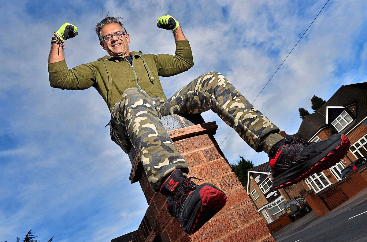 Anil Sarpal, who lives in Tettenhall, will take on the challenge to raise funds for the NSPCC and the National Autistic Society