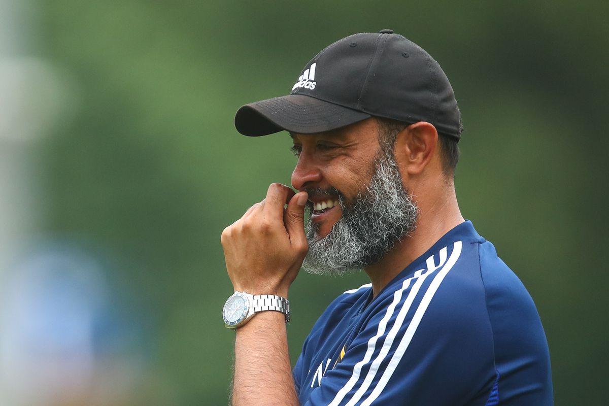Nuno is confident his players will improve this season (© AMA)