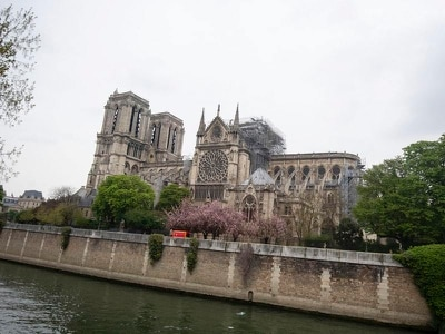 French police experts start Notre Dame checks following fire
