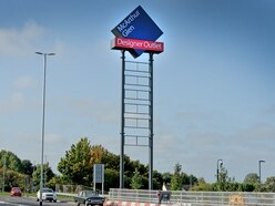 Petition launched to remove 30m sign outside new Cannock designer outlet