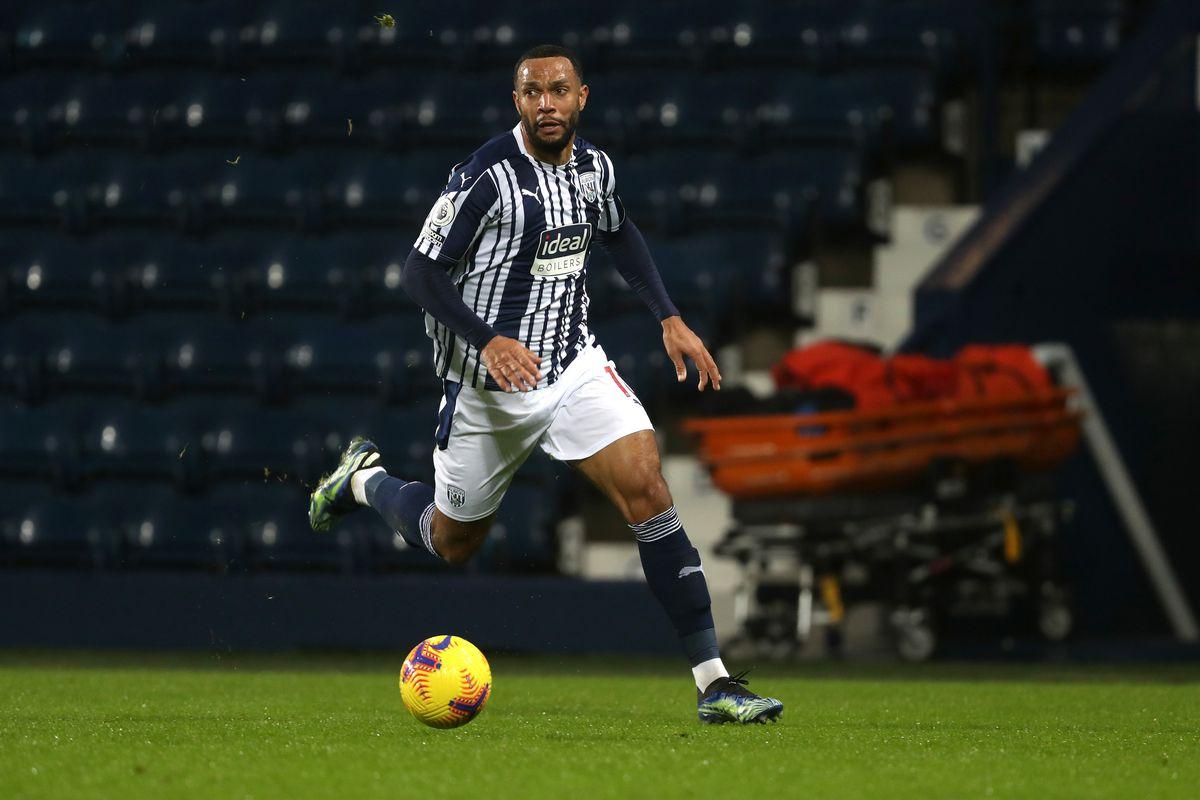 Matt Phillips of West Bromwich Albion.