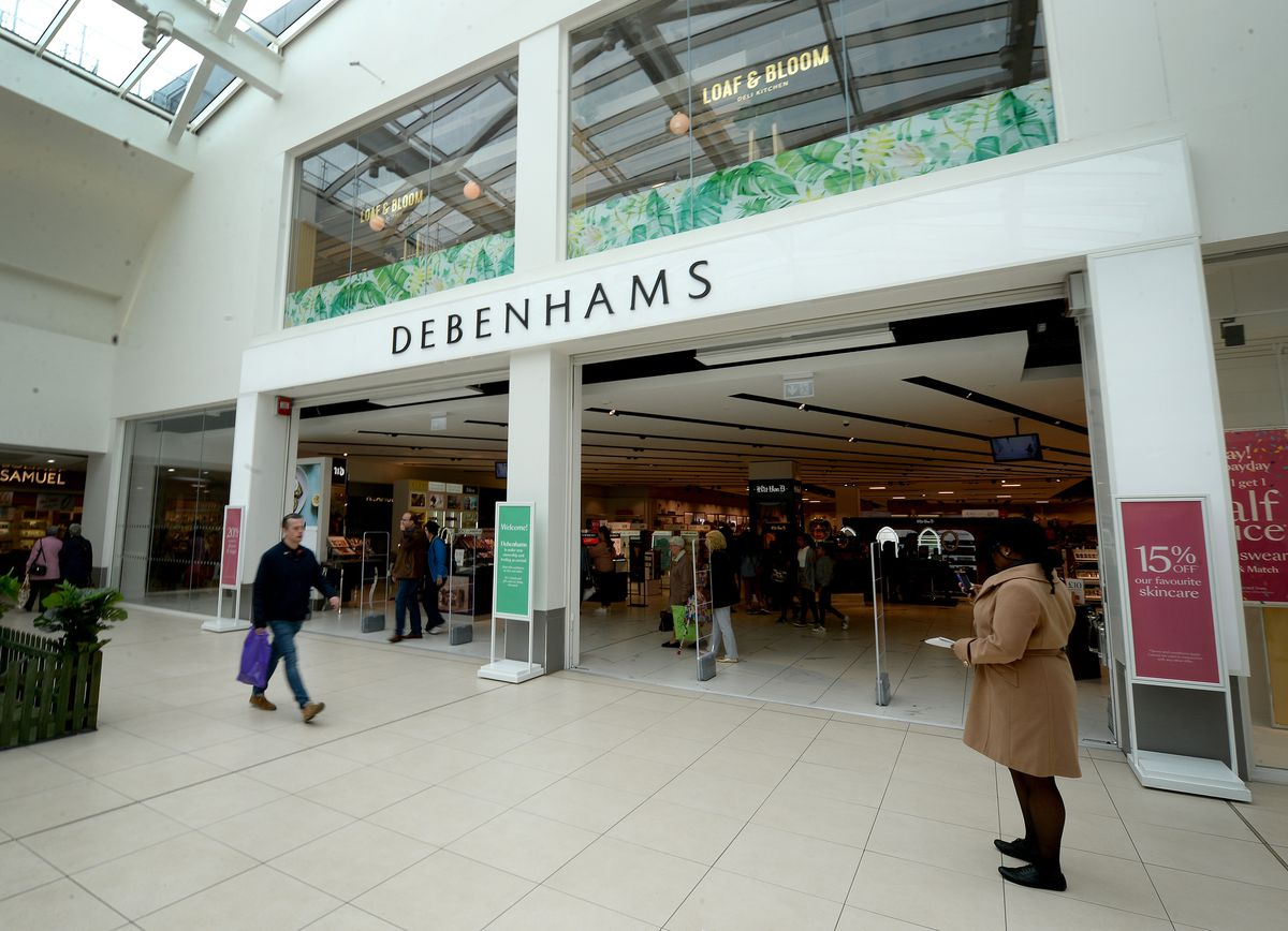 The Debenhams in the Mander Centre is set to close after just two years