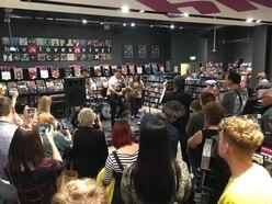 Merry Hill HMV and RawSound.tv toast successful debut live music showcase