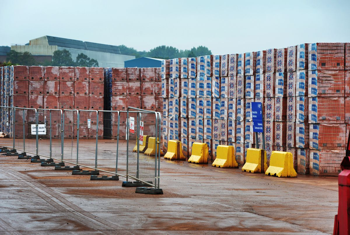More than 100 million bricks will be produced a year under the plans