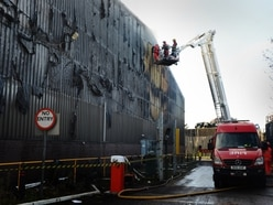 Walsall tip closed after dozens of firefighters tackle major blaze at centre - WATCH