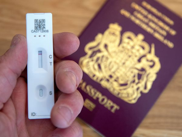 Coronavirus test with a passport