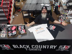 Steve Pitts, director of Black Country T-Shirts