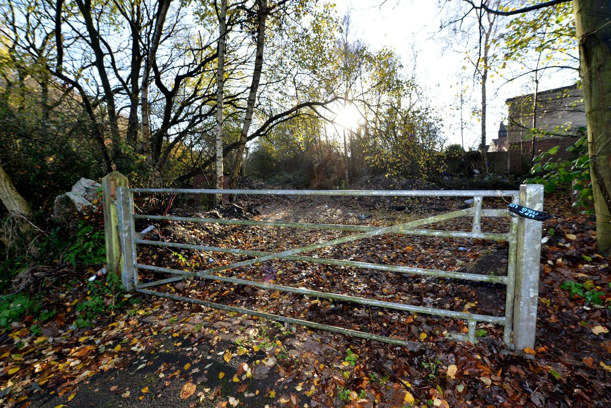 Work has started on land off Gorsebrook Road to build a transit site for travellers in the city.