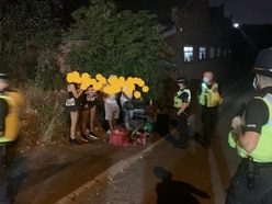 28 illegal parties broken up in one night by West Midlands Police