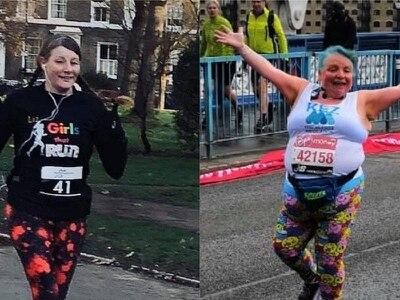 Returning runners praise London Marathon's 'brilliant' back-of-the-pack changes