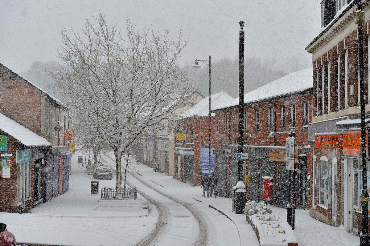 Snow in Hednesford