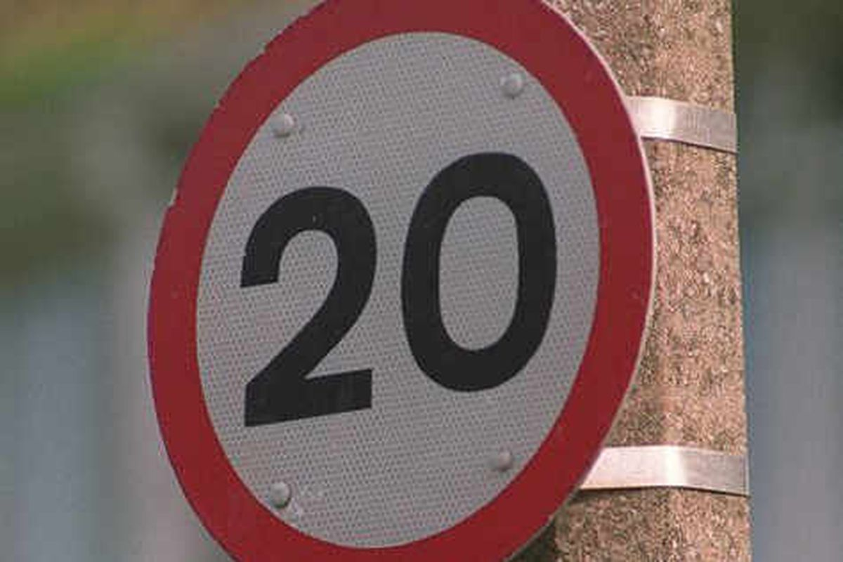 Speed limit to be reduced to 20mph along Staffordshire road