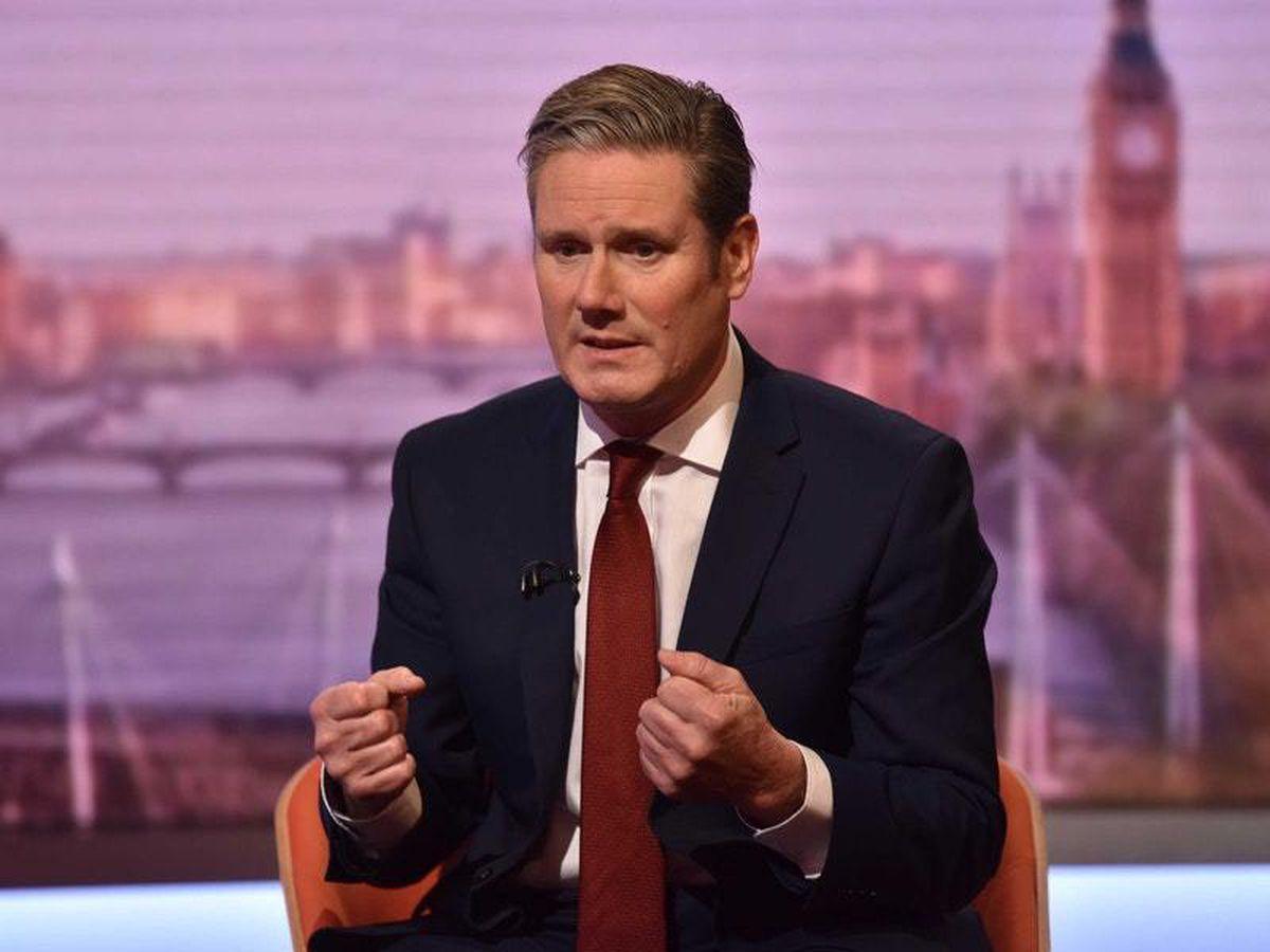 Shadow Brexit secretary Sir Keir Starmer