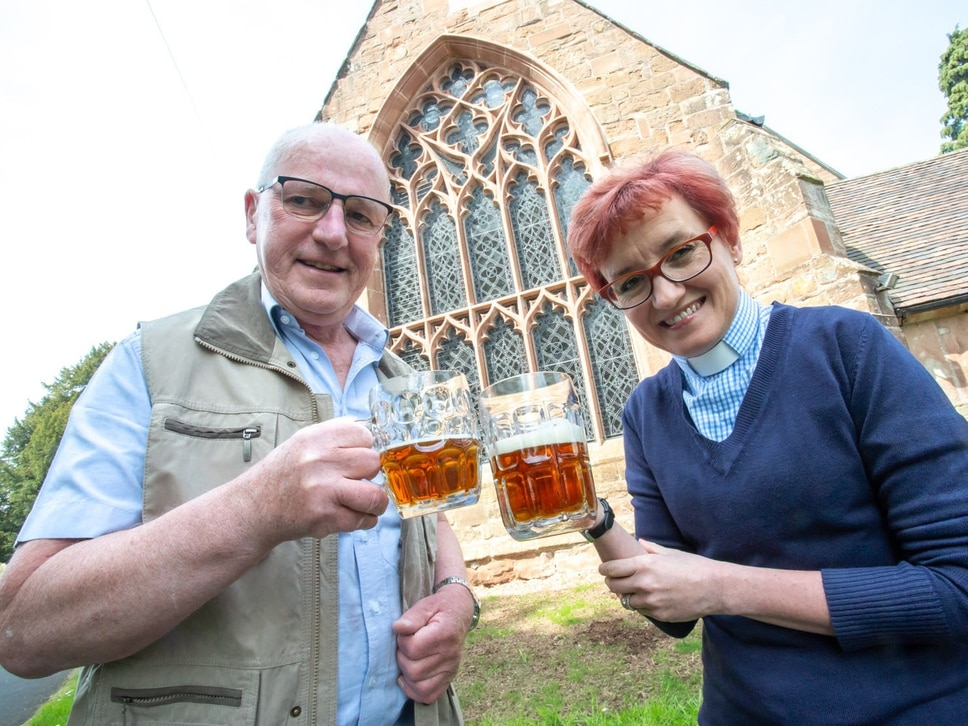 From last orders to holy orders as beer festival returns to Albrighton church