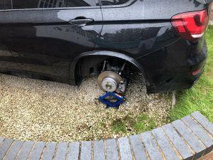 Wolves' Ryan Bennett has wheels stolen off his £60k BMW