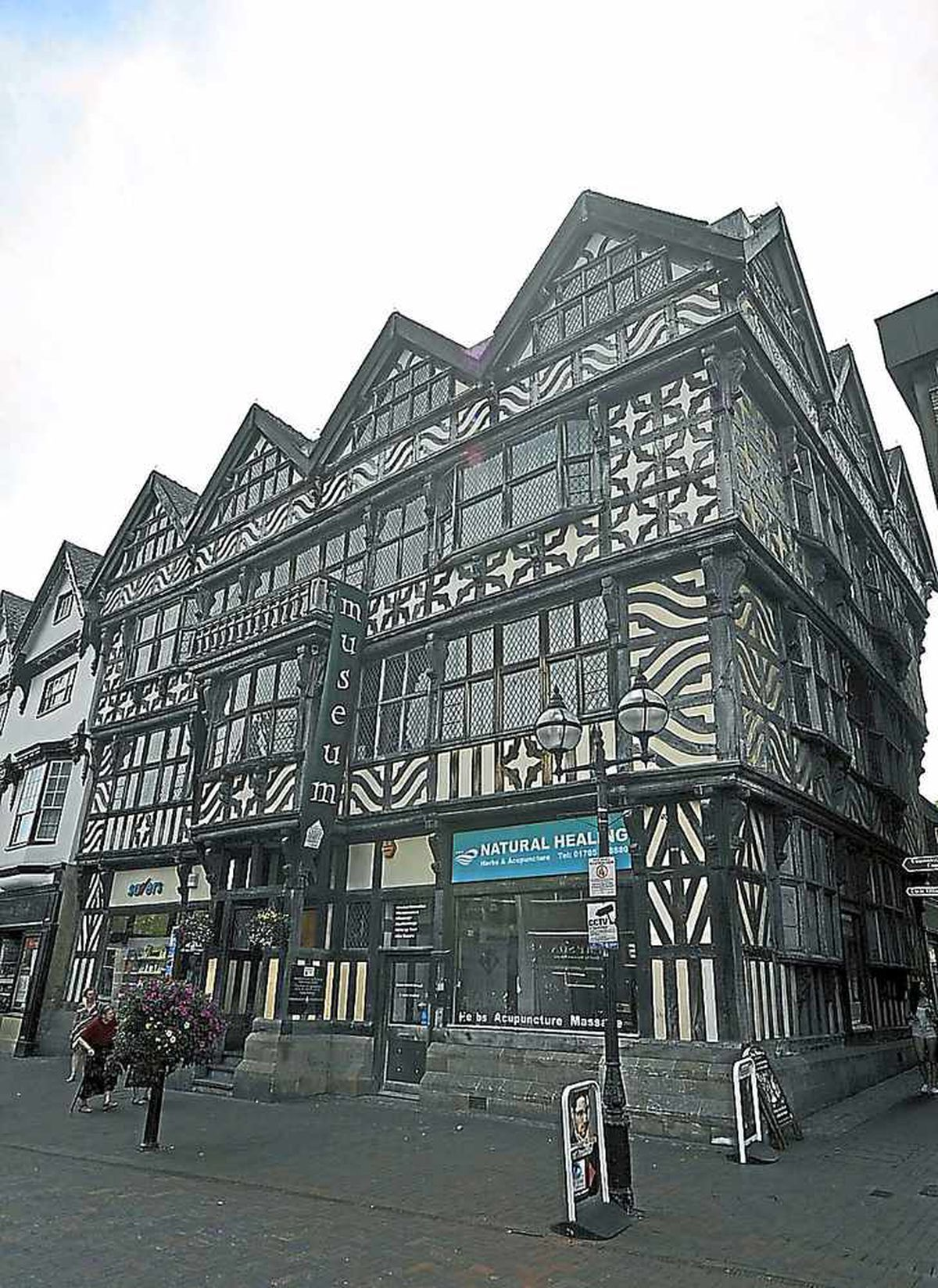 Ancient High House Museum, in Stafford High Street.