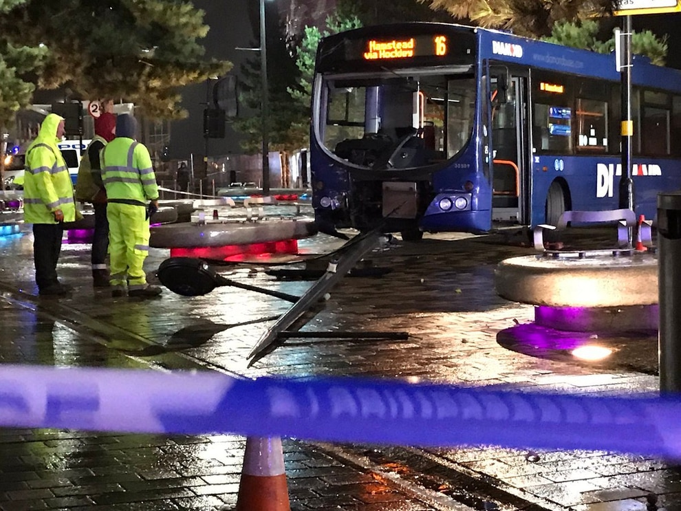 Diamond Bus Crash In West Bromwich Express Amp Star