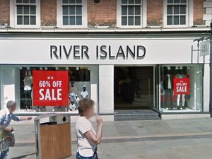 The former River Island store on Dudley High Street. Photo: Google