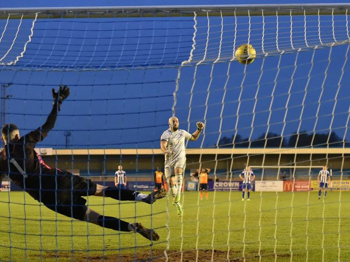 The moment Breeden skied the penalty