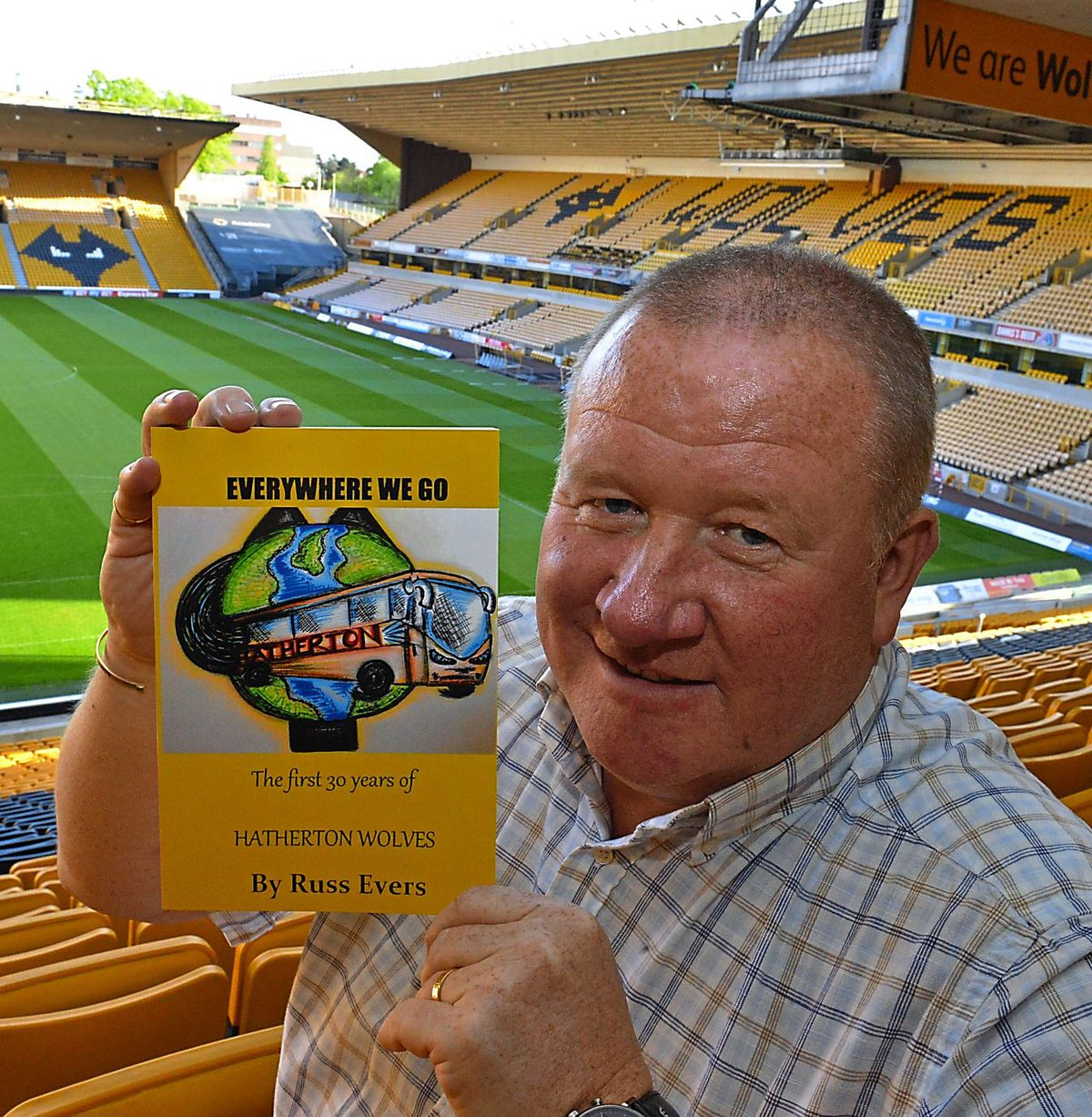 A total of 306 books – one for every goal scored by Wolves legend Steve Bull – have been produced