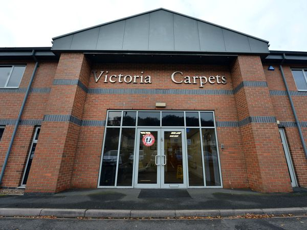 Victoria Carpets in Kidderminster is the headquarters of the group